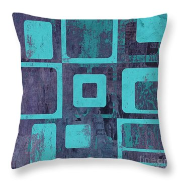 Geomix 02 - Sp06c6b Throw Pillow