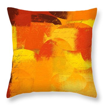 Geomix 05 - 01at01 Throw Pillow by Variance Collections