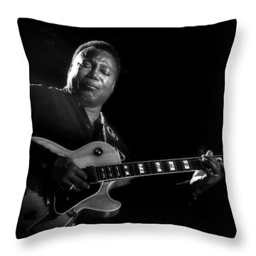 George Benson  Throw Pillow