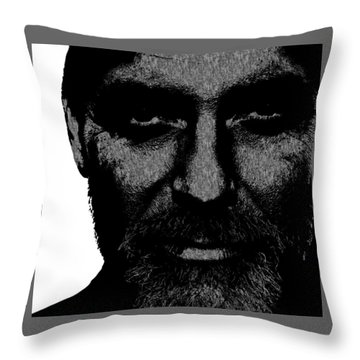 George Clooney 2 Throw Pillow