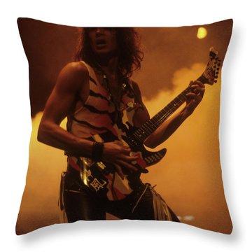George Lynch Throw Pillow