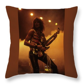 George Lynch Throw Pillow