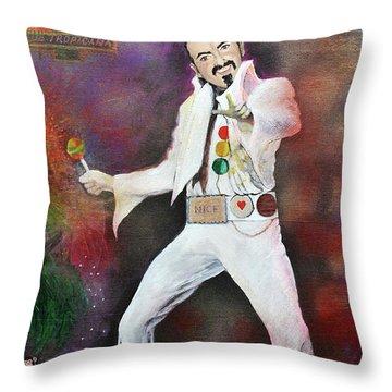 George Michael Gentlemen And Ladies Throw Pillow
