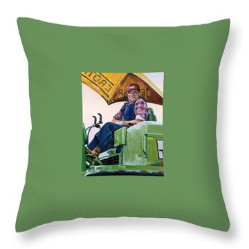 George The Artist Throw Pillow