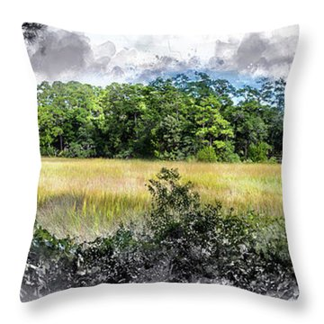 George Washington Trail Throw Pillow