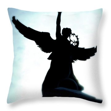 Georges-etienne Cartier Monument Throw Pillow by Lisa Knechtel