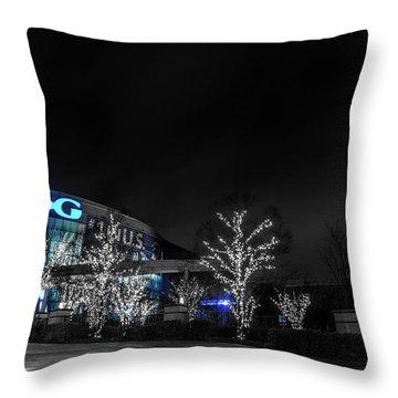 Georgia Aquarium Throw Pillow
