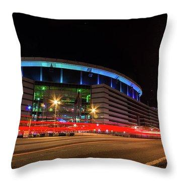 Georgia Dome Throw Pillow