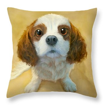 Portrait Throw Pillows