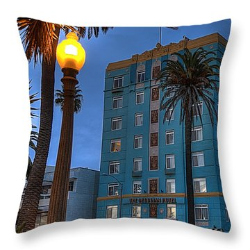 Georgian Hotel Throw Pillow