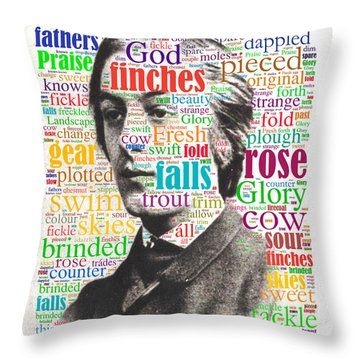 Gerard Manley Hopkins Throw Pillow