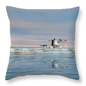 German Submarine U-99 Throw Pillow