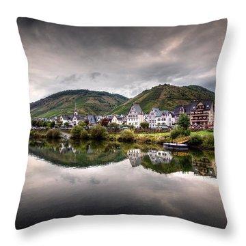 German Village Throw Pillow