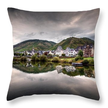 German Village Throw Pillow