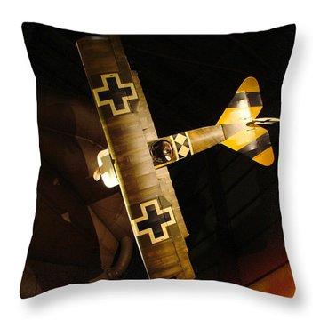 German Wwi Attack Throw Pillow by Tommy Anderson