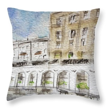 Germany Impression Throw Pillow