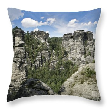 Germany Landscape Throw Pillow