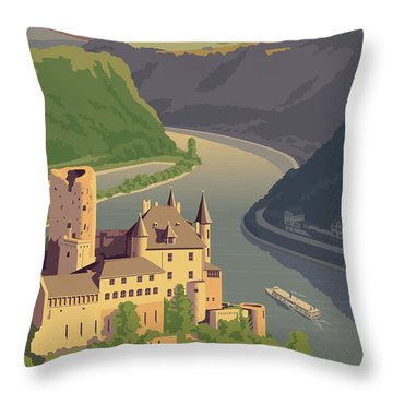Riverboat Throw Pillows
