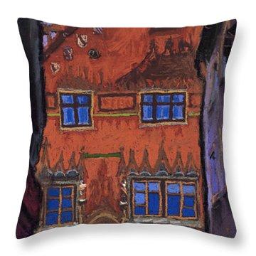 Germany Ulm Throw Pillow by Yuriy  Shevchuk