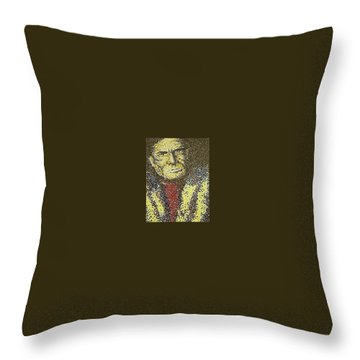 Geronimo Throw Pillow by Kevin Heaney