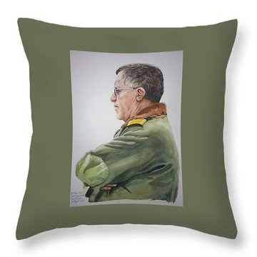 Gert Throw Pillow