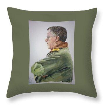 Gert Throw Pillow by Tim Johnson
