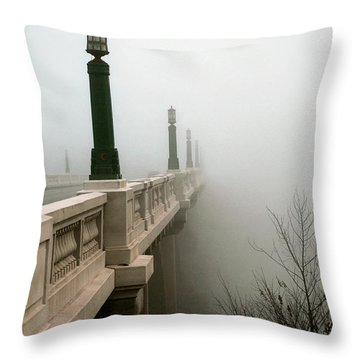 Gervais Street Bridge Throw Pillow