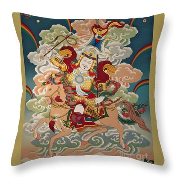 Gesar Gyalpo Throw Pillow