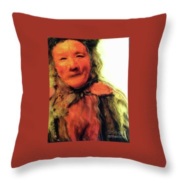 Gestures Of Dignity And Grace Throw Pillow