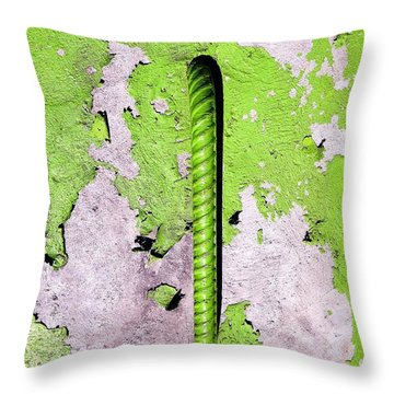 Throw Pillow featuring the photograph Get A Handle by Olivier Calas