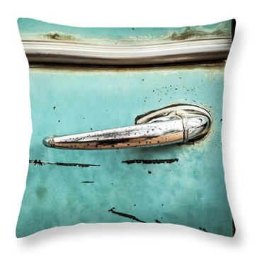 Get A Handle On It Throw Pillow