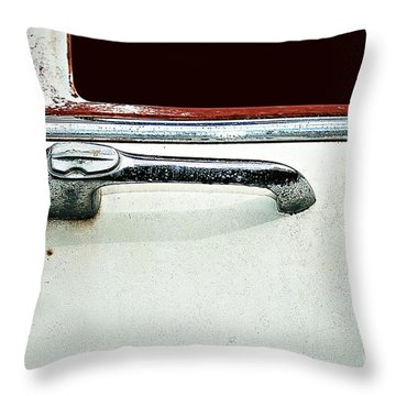 Get A Handle Throw Pillow