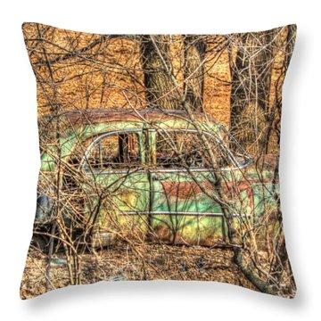Get Away Car Throw Pillow