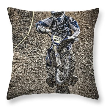 Get Dirty Throw Pillow by Mitch Shindelbower