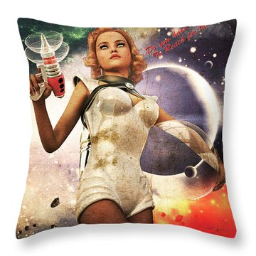 Get In The Fight Throw Pillow