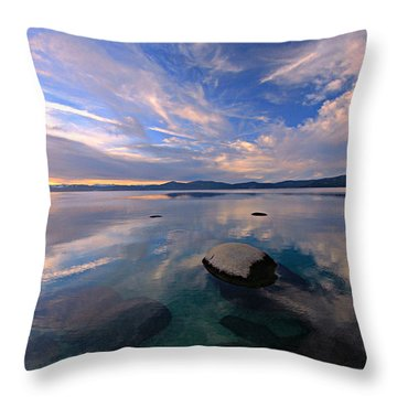 Get Into Nature Throw Pillow