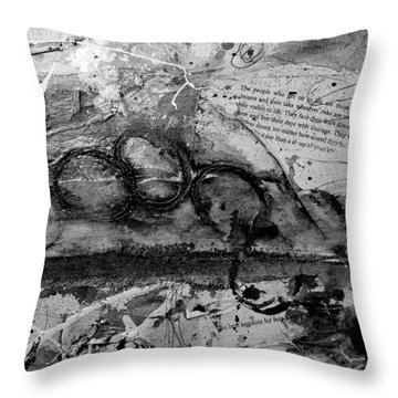 Get Into The Game Throw Pillow
