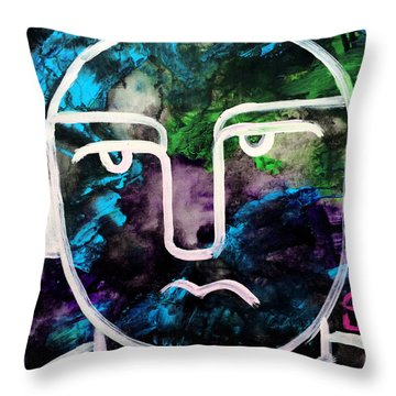 Get Into The Groove Art By Robert Erod Original Throw Pillow