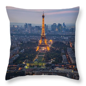 Get Ready For The Show Throw Pillow