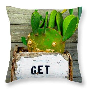 Get Rhythm Throw Pillow