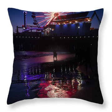 Throw Pillow featuring the photograph Get The Shot by Lora Lee Chapman