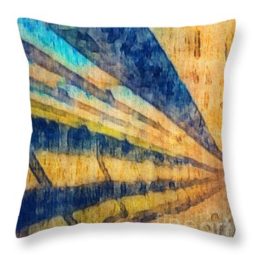 Get To The Point Throw Pillow by William Wyckoff