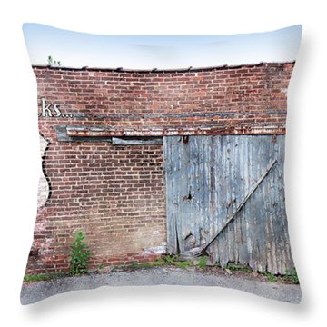 Throw Pillow featuring the digital art Get Your Kicks by Sandy MacGowan
