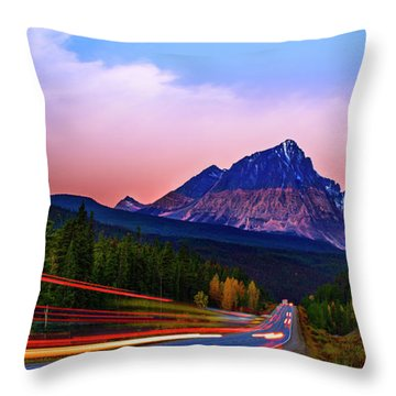 Throw Pillow featuring the photograph Get Your Motor Running by John Poon