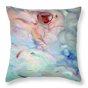 Gethsemane Mt 26-40 - Calices Throw Pillow