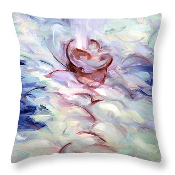Gethsemane Mt 26-42 - Calices Throw Pillow