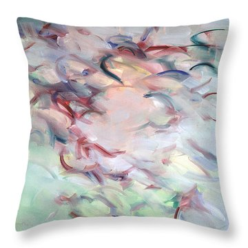 Gethsemane Mt 26-44 - Calices Throw Pillow