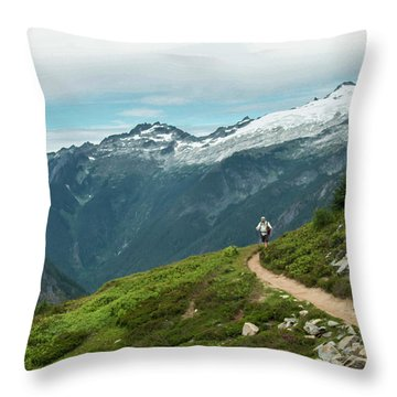 Getting Better All The Time.... Throw Pillow
