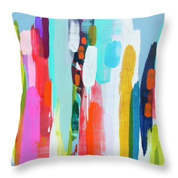 Getting Close Throw Pillow