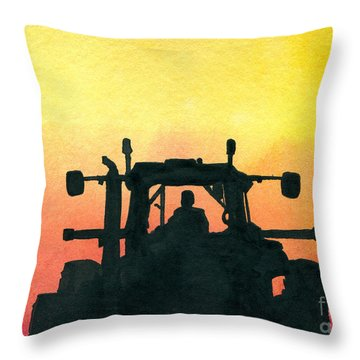 Getting It Done Throw Pillow